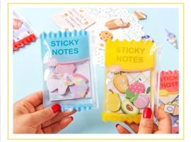 Sticky Note tasje schelpen