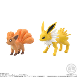 Pokémon Scale World Kanto 2 Vulpix & Jolteon