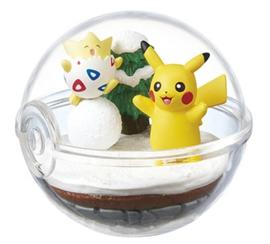 Pokémon Terrarium collectie 2 Pikachu & Togepi