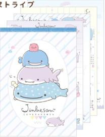 Jinbesan shark groot memoblok