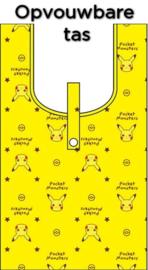 Pokémon Pikachu opvouwbare tas geel