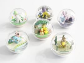 Pokémon Terrarium collectie 7 Pikachu & Growlithe