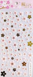 Sakura stickervel