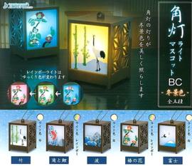 Gashapon Japanse lantaarn met licht blind box