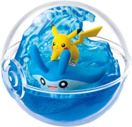 Pokémon Re-ment Four Seasons Pikachu & Mantyke