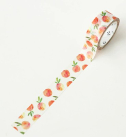 Fruit washi tape perzik