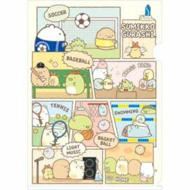Summiko Gurashi Strip File folder