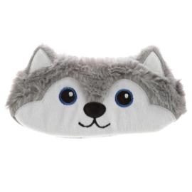 Fluffy Slaapmasker Husky