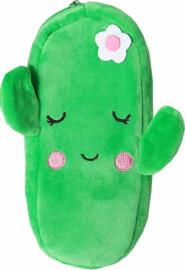 Plush cactus etui