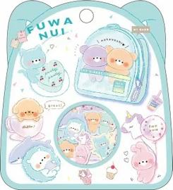 Fuwa Nui stickerzakje Kamio Japan