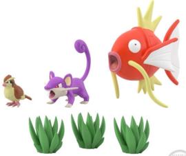 Pokémon Scale World Kanto 2 Pidgey & Rattata & Magikarp