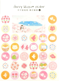 Sakura Japan Stickervelpakket van 4 - 2