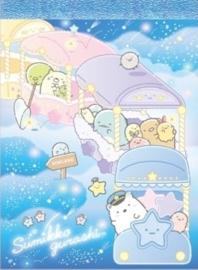 Sumikko Gurashi Starry Sky memoblok trein