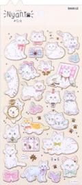 Nyan Kat stickervel 4