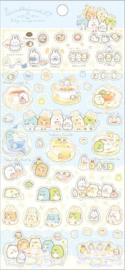 Sumikko Gurashi Fushigina Usagi no Oniwa Stickervel blauw