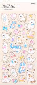 Nyan Kat stickervel 3