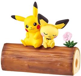 Pokémon Nakayoshi Friends boomstam Pikachu & Pichu