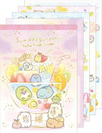 Sumikko Gurashi PenPen Fruits Vacation memoblok groot drink