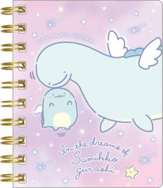 Sumikko Gurashi Tokage's Dream 1 klein spiraal notebook