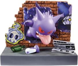 Pokémon Re-ment Back Alley Gengar