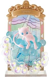 Pokémon stained glass Mew