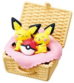 Pokémon Re-ment Utatane basket Pichu & Pichu