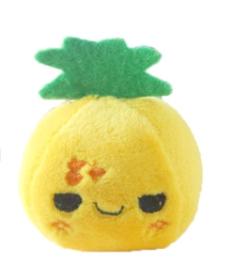 Kawaii Evil ananas fruit plush knuffel