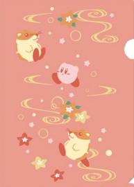 Kirby File folder insteekmap roze A4