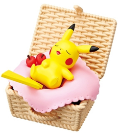 Pokémon Re-Ment Utatane basket Pikachu