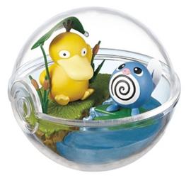 Pokémon Terrarium collectie 2 Psyduck & Poliwag