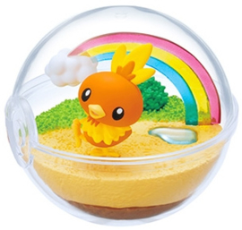 Pokémon Terrarium collectie 9 Torchic