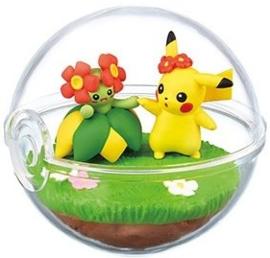 Pokémon Terrarium collectie 6 Pikachu & Bellossom