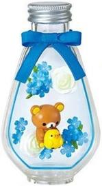 Rilakkuma Flower Bottle Re-Ment Blue Star terrarium
