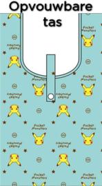 Pokémon Pikachu opvouwbare tas blauw