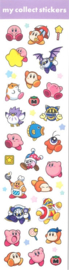 Kirby stickervel paars