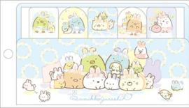 Sumikko Gurashi Fushigina Usagi no Oniwa Sticky Notes Blauw Multi