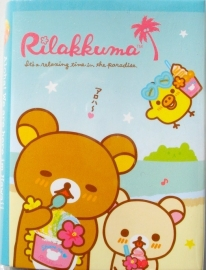 Uitklapbaar Rilakkuma sticky note blok ice cream