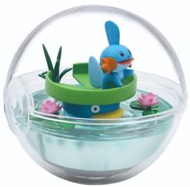 Pokémon Terrarium collectie 8 Mudkip en Lotad