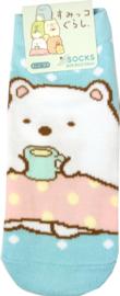 Sumikko Gurashi Kopje thee (enkel) sokken