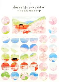 Sakura Japan Stickervelpakket van 4 - 3