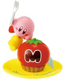 Kirby Re-ment Tea Time Kirby's Maxim Tomato Cake