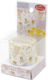 Rilakkuma washi tape set van 2
