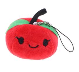 Kawaii Appel fruit plush knuffel