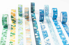 Konijn bloemen washi tape