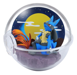 Pokémon Terrarium collectie Four Seasons Lucario