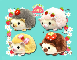 Amuse Harin the Hedgehog plush strik geel 42 cm