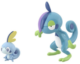 Pokémon Scale World Bandai Galar Sobble & Drizzile
