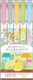 Pokémon pastel highlighter set