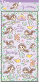 Stickervel Disney Prinses Jasmine