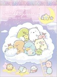 Sumikko Gurashi Starry Sky memoblok wolk